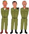 עבודה אקדמית מלחמת לבנון השניה קבלת החלטות, מנהיגים אולמרט, חלוץ, פרץ